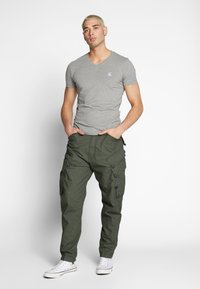 G-Star - DRONER RELAXED TAPERED CARGO PANT - Cargo trousers - wild rovic - 1