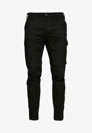 FRONT POCKET SLIM PANT - Cargobroek - black