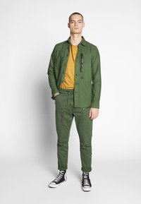G-Star - POWEL SLIM TRAINER - Cargo trousers - wild rovic - 1