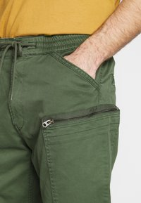 G-Star - POWEL SLIM TRAINER - Cargo trousers - wild rovic - 4