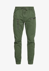 G-Star - POWEL SLIM TRAINER - Cargo trousers - wild rovic - 6