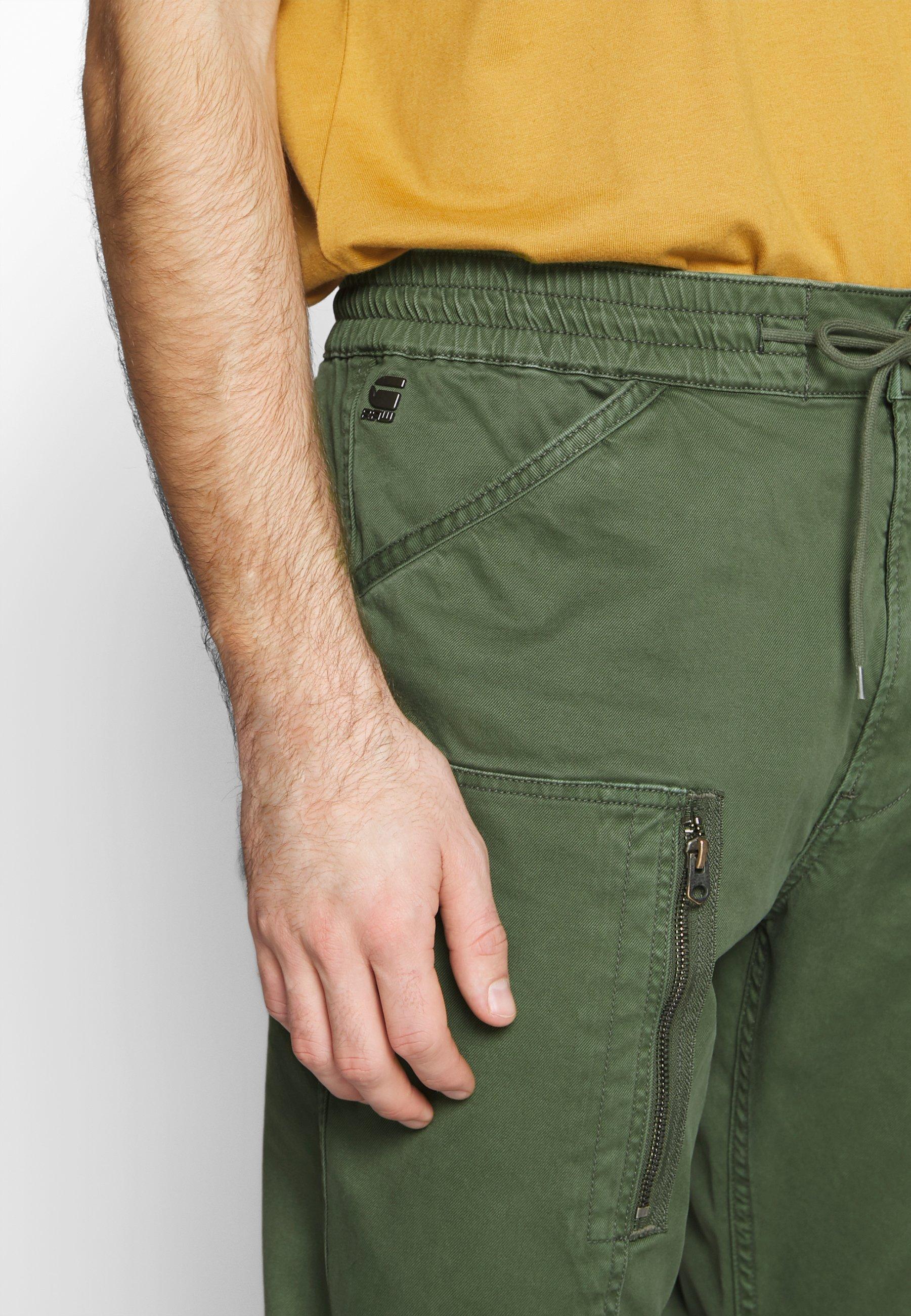 G-Star POWEL SLIM TRAINER - Spodnie materiałowe - wild rovic