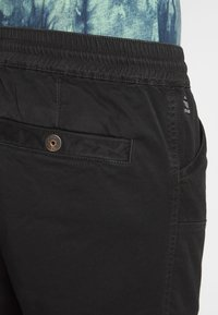 G-Star - POWEL SLIM TRAINER - Cargo trousers - dk black - 4
