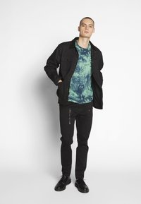 G-Star - POWEL SLIM TRAINER - Cargo trousers - dk black - 1
