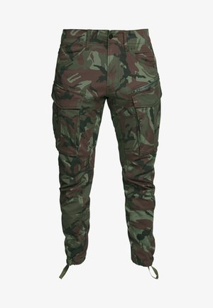 ROVIC STRAIGHT TAPERED ZIP - Pantalon cargo - wild dark combat