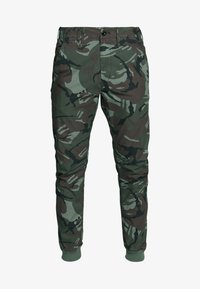 G-Star - VETAR CUFFED SLIM - Trousers - wild rovic combat - 4