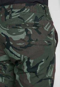 G-Star - VETAR CUFFED SLIM - Trousers - wild rovic combat - 5