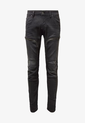 AIR DEFENCE ZIP SKINNY - Jeans slim fit - gray