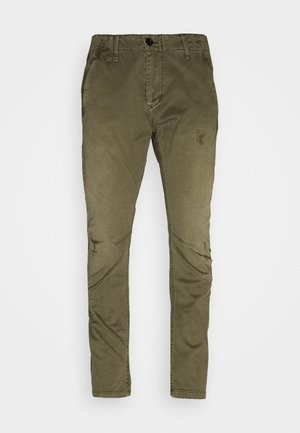 VETAR SLIM CHINO - Chino - bracket stretch twill rfd - dk shamrock restored gd
