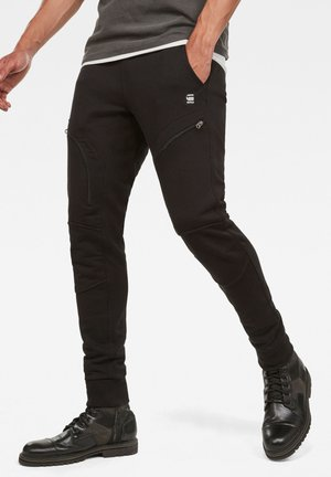 AIR DEFENCE ZIP 3D SLIM - Jogginghose - dk black