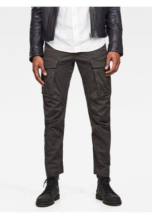 CARGO 3D STRAIGHT TAPERED - Cargohose - raven