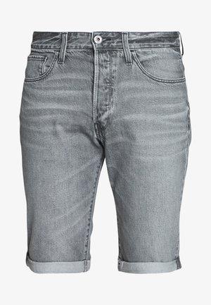 3301 SHORT - Jeans Shorts - sato black denim/sun faded black stone