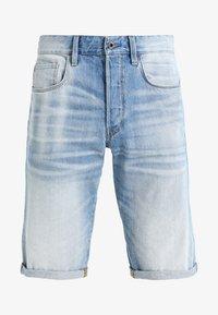 G-Star - 3301 SHORT - Shorts di jeans - sato denim - 5