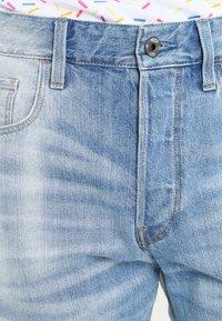 G-Star - 3301 SHORT - Shorts di jeans - sato denim - 3