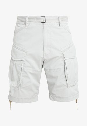 ROVIC QANE BELT LOOSE 1/2 - Shorts - grey marble