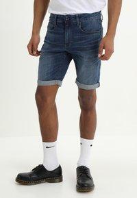 G-Star - 3301 Slim - Denim shorts - elto superstretch - 0