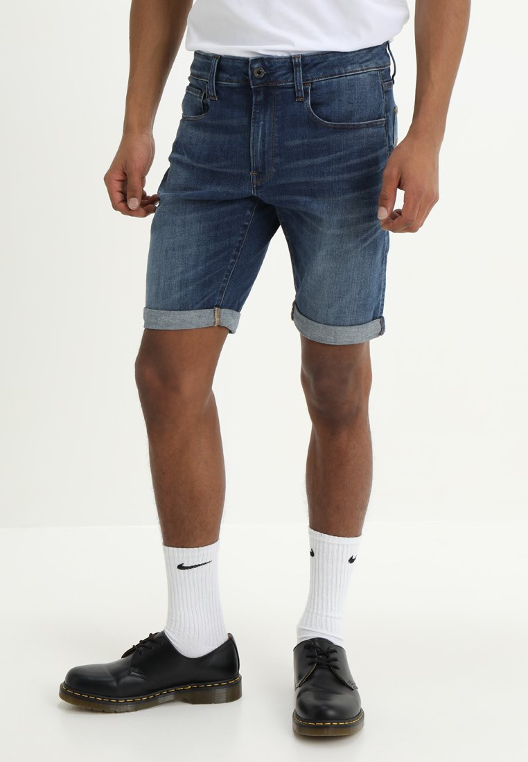 G-Star - 3301 Slim - Denim shorts - elto superstretch