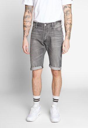 ARC 3D 1/2 - Short en jean - sato black denim sun faded black stone