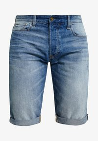 G-Star - 3301 1\2 - Jeansshort - medium aged - 4