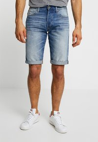 G-Star - 3301 1\2 - Jeansshort - medium aged - 0