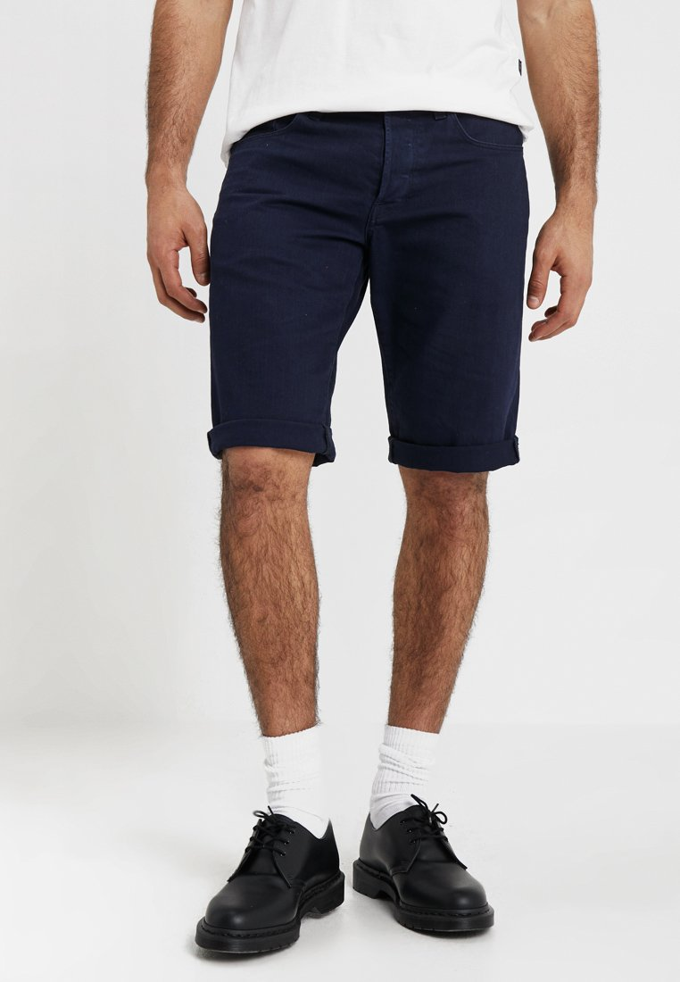 G-Star - 3301 1\2 - Shorts vaqueros - sartho blue