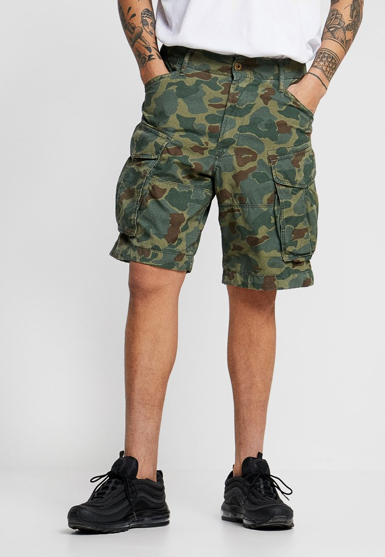 G-Star - ROVIC RELAXED 1\2 - Shorts - sage/battle green