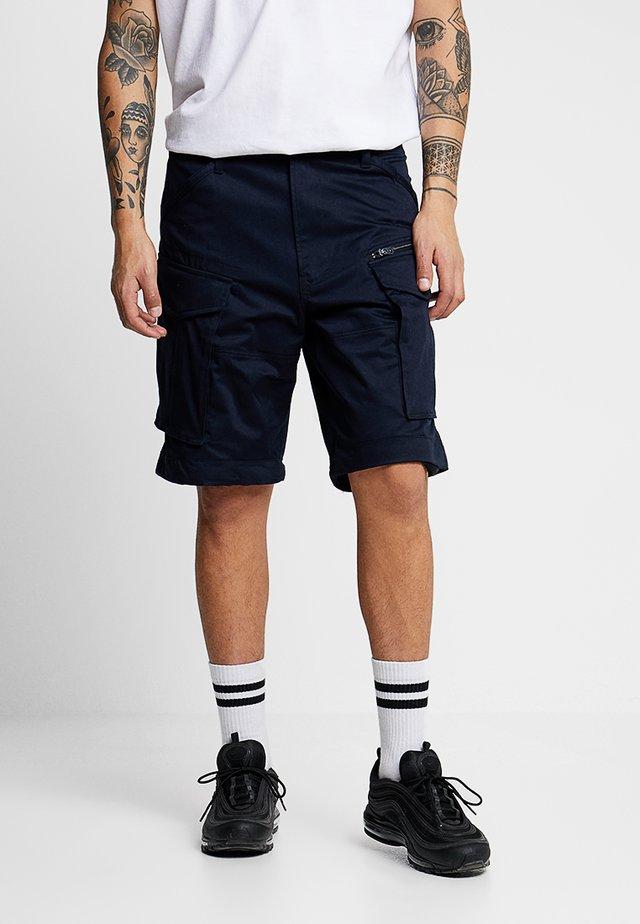 ROVIC ZIP RELAXED 1\2 - Shorts - mazarine blue