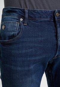 G-Star - ARC 3D 1/2 - Denim shorts - devon stretch denim dark aged - 3