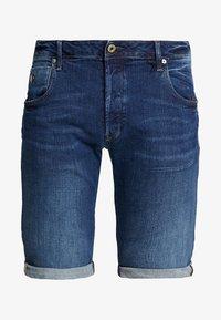 G-Star - ARC 3D 1/2 - Denim shorts - devon stretch denim dark aged - 4