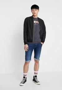 G-Star - ARC 3D 1/2 - Denim shorts - devon stretch denim dark aged - 1