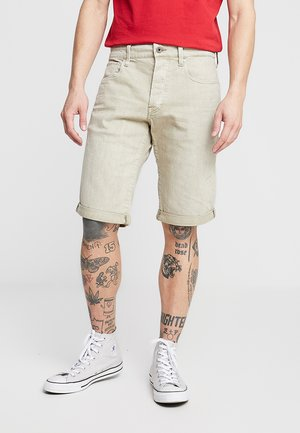 3301 1/2 - Jeansshort - inza stretch denim od - khaki