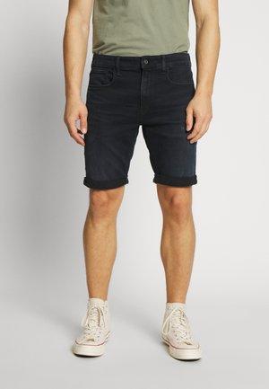 3301 SLIM SHORT - Denim shorts - rink superstretch worn in night destroyed
