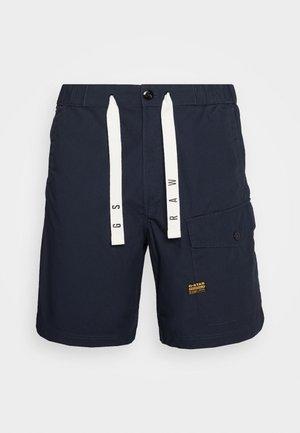 FRONT POCKET SPORT  - Shorts - pabe poplin - mazarine blue