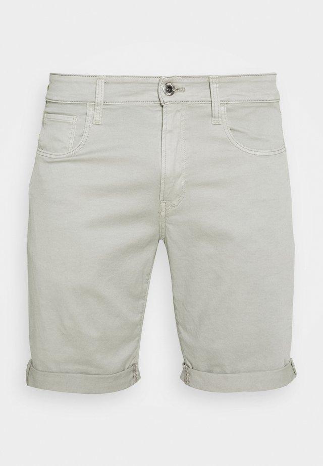 3301 SLIM SHORT - Jeansshort - bracket stretch twill - lt orphus