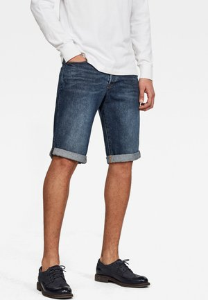 Denim shorts - blue stone