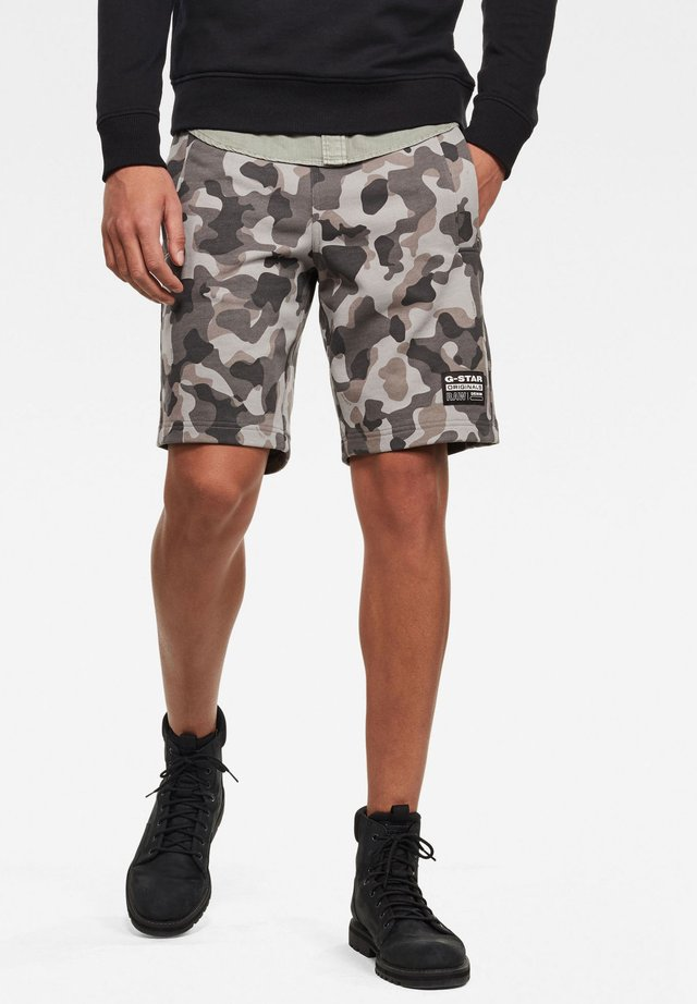 BRUSH CAMO - Shorts - charcoal birch camo