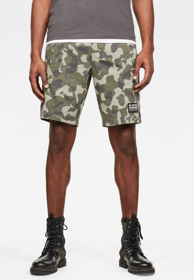 BRUSH CAMO - Shorts - lt orphus birch camo