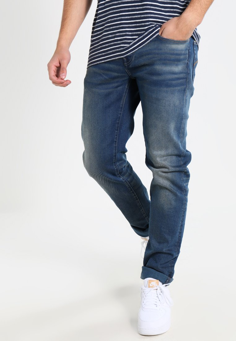 G-Star - 3301 LOW TAPERED - Relaxed fit jeans - firro denim