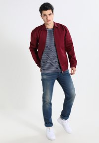 G-Star - 3301 LOW TAPERED - Džíny Relaxed Fit - firro denim - 1