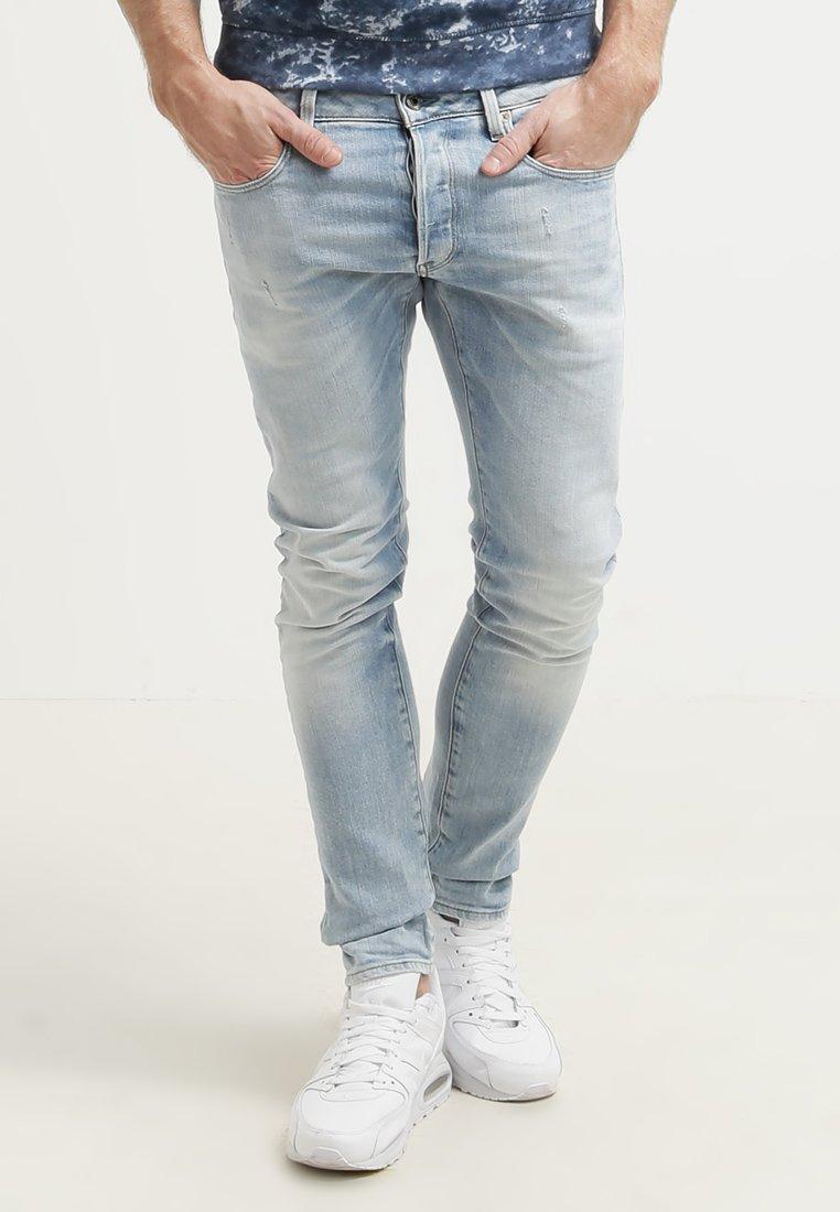 G-Star - 3301 SLIM - Slim fit jeans - nippon stretch denim