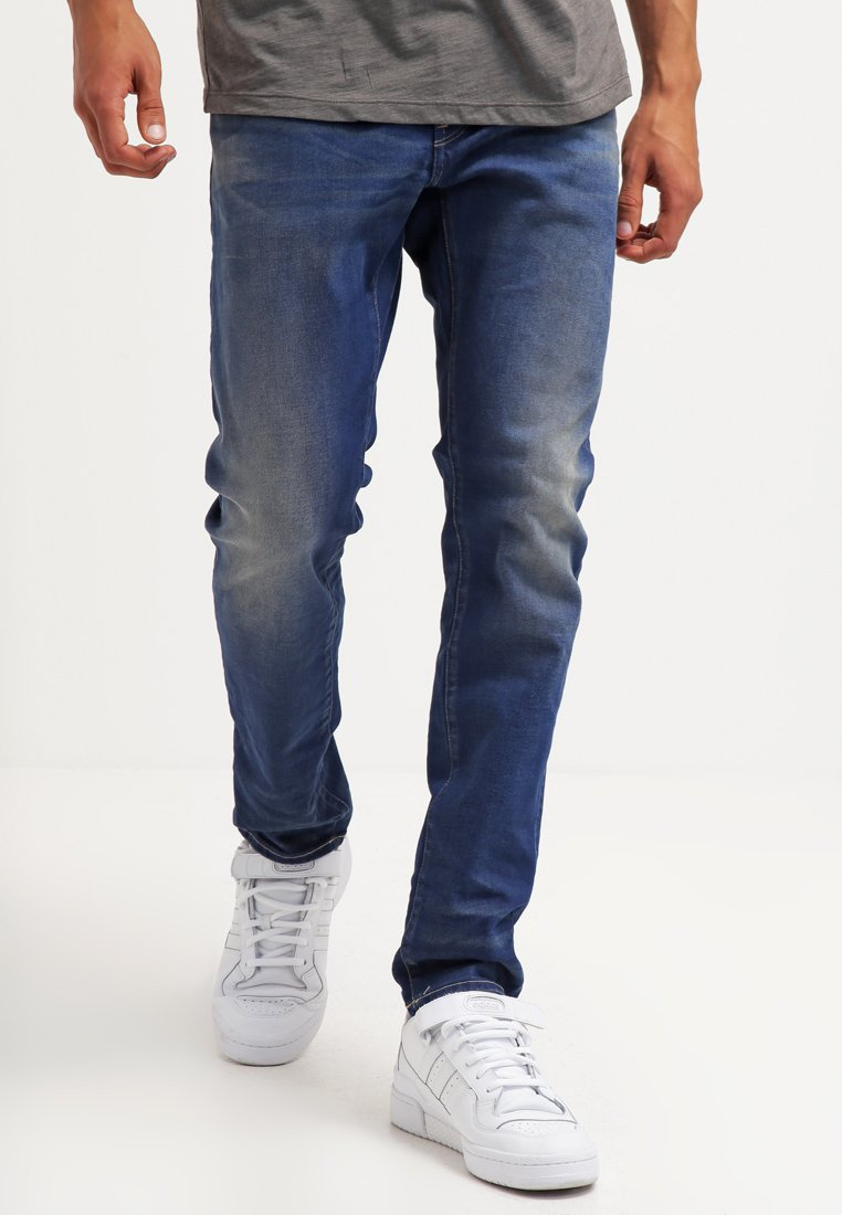G-Star - 3301 SLIM - Slim fit jeans - medium aged
