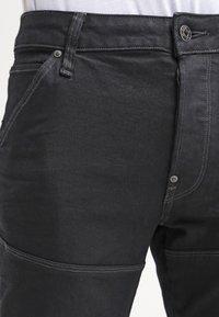 G-Star - 5620 3D SLIM - Jean slim - black pintt stretch denim - 4