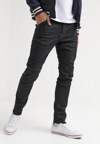 G-Star - 5620 3D SLIM - Jean slim - black pintt stretch denim - 3