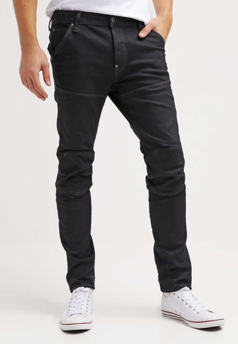 G-Star - 5620 3D SLIM - Jeans slim fit - black pintt stretch denim