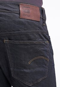 G-Star - 3301 TAPERED - Jeans fuselé - dark-blue denim - 4