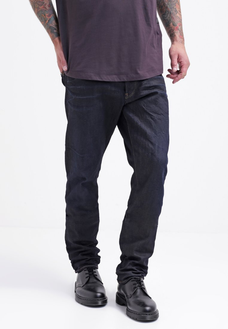 G-Star - 3301 TAPERED - Jeans Tapered Fit - dark-blue denim