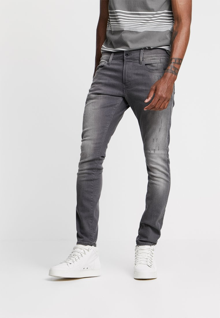 G-Star - REVEND SKINNY - Jeans Skinny Fit - slander grey superstech