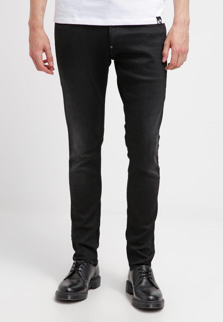 G-Star - REVEND SKINNY - Jeans Skinny Fit - slander black supers