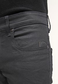 G-Star - REVEND SKINNY - Jeansy Skinny Fit - black pintt stretch denim - 5
