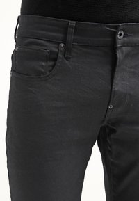 G-Star - REVEND SKINNY - Jeans Skinny Fit - black pintt stretch denim - 4